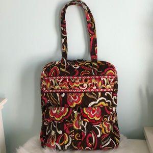 VERA BRADLEY Shoulder Bag Tote PUCCINI Pattern